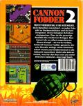 Cannon Fodder 2 DOS Back Cover