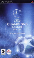 UEFA Champions League 2006-2007 PSP Front Cover