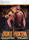 Duke Nukem: Manhattan Project Xbox 360 Front Cover