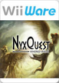 NyxQuest: Kindred Spirits Wii Front Cover