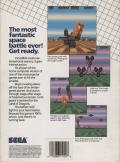 Space Harrier DOS Back Cover