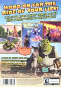 Shrek Smash N' Crash Racing PlayStation 2 Back Cover