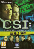 CSI: Crime Scene Investigation - Deadly Intent Windows Front Cover