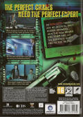 CSI: Crime Scene Investigation - Deadly Intent Windows Back Cover