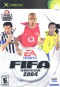 FIFA Soccer 2004 Xbox Front Cover