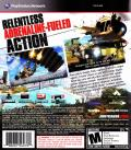 Just Cause 2 PlayStation 3 Back Cover
