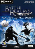 Battle Realms: Winter of the Wolf Windows Front Cover