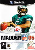 Madden NFL 06 GameCube Front Cover