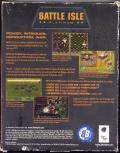 Battle Isle: Platinum DOS Back Cover