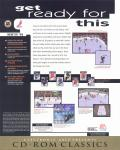 NHL 96 DOS Back Cover