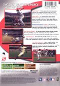 Major League Baseball 2K6 Xbox Back Cover