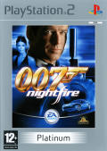 007: Nightfire PlayStation 2 Front Cover