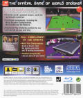 World Snooker Championship 2007 PlayStation 3 Back Cover