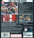 Fight Night Round 3 PlayStation 3 Back Cover