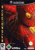 Spider-Man 2 GameCube Front Cover