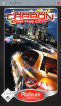 Need for Speed: Carbon - Own the City PSP Front Cover