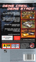 Need for Speed: Carbon - Own the City PSP Back Cover