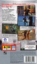 Tom Clancy's Splinter Cell: Essentials PSP Back Cover
