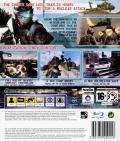 Tom Clancy's Ghost Recon: Advanced Warfighter 2 PlayStation 3 Back Cover