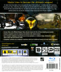 TimeShift PlayStation 3 Back Cover