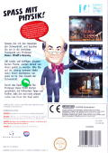 Professor Heinz Wolff's Gravity Wii Back Cover