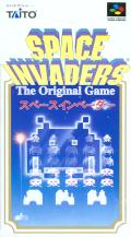 Space Invaders SNES Front Cover
