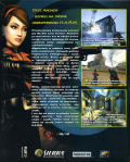No One Lives Forever 2: A Spy in H.A.R.M.'s Way Windows Back Cover