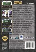 Wheel of Fortune Genesis Back Cover