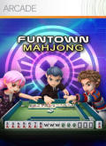 FunTown Mahjong Xbox 360 Front Cover