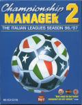 Championship Manager 2: The Italian Leagues Season 96/97 DOS Front Cover
