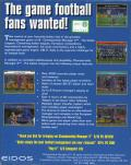 Championship Manager 2: The Italian Leagues Season 96/97 DOS Back Cover