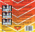 Exploding Fist + Commodore 64 Back Cover