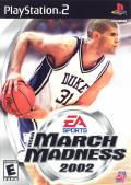 NCAA March Madness 2002 PlayStation 2 Front Cover