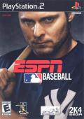 ESPN Major League Baseball PlayStation 2 Front Cover