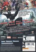 Spider-Man: Web of Shadows Windows Back Cover