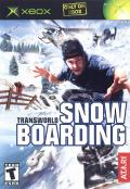TransWorld Snowboarding Xbox Front Cover