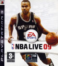 NBA Live 09 PlayStation 3 Front Cover