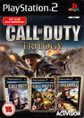 Call of Duty Trilogy PlayStation 2 Front Cover