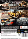 Call of Duty Trilogy PlayStation 2 Back Cover