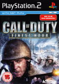 Call of Duty Trilogy PlayStation 2 Other CoD: Finest Hour - Keep Case - Front