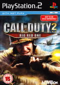 Call of Duty Trilogy PlayStation 2 Other CoD 2: Big Red One - Keep Case - Front