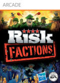 Risk: Factions Xbox 360 Front Cover