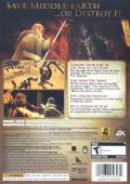 The Lord of the Rings: Conquest Xbox 360 Back Cover