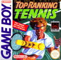 Top Rank Tennis Game Boy Front Cover