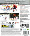 NHL 09 PlayStation 3 Back Cover