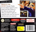 Phoenix Wright: Ace Attorney Nintendo DS Back Cover