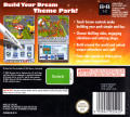 Theme Park Nintendo DS Back Cover