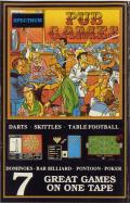 Pub Games ZX Spectrum Front Cover