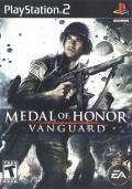 Medal of Honor: Vanguard PlayStation 2 Front Cover