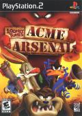 Looney Tunes: Acme Arsenal PlayStation 2 Front Cover